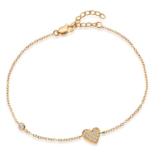 unique-bransoletka-srebrna-pokryta-złotem-z-cyrkoniami-1