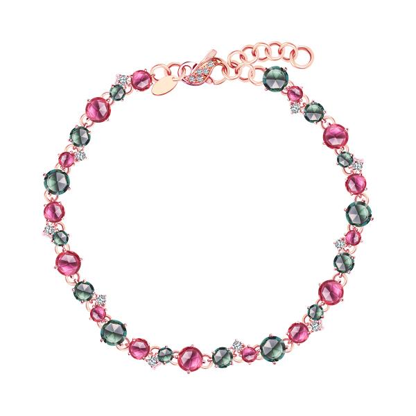 bransoletka-z-różowego-złota-z-diamentami-i-turmalinami--1