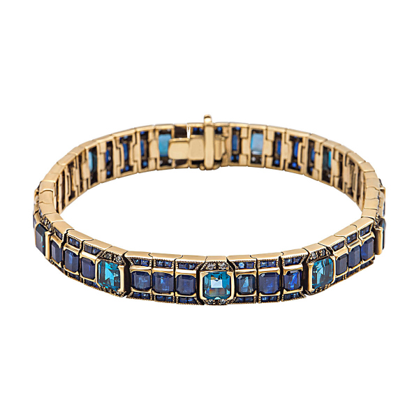 bransoletka-złota-z-szafirami-i-topazami-kolekcja-wiktoriańska--1