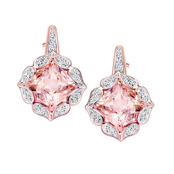 kolczyki-z-różowego-złota-z-morganitami-i-diamentami-vintage-rose-1