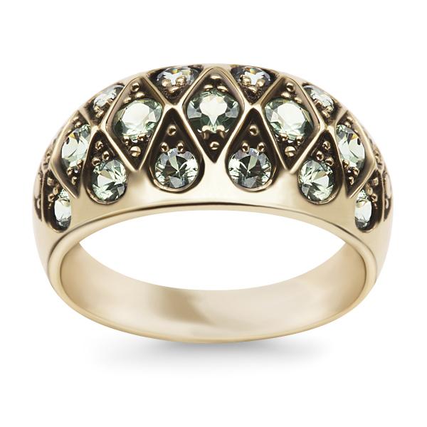 Zdjęcie Kolekcja Wiktoriańska - pierścionek z szafirami #1