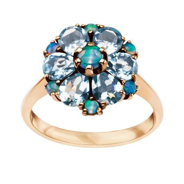 pierścionek-złoty-z-topazami-i-opalami-kolekcja-wiktoriańska-1