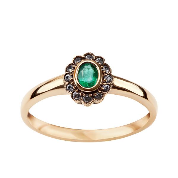pierścionek-złoty-ze-szmaragdami-i-szafirami-kolekcja-wiktoriańska-1