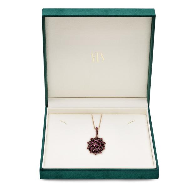 Zdjęcie Kolekcja Wiktoriańska - zawieszka z rubinami #2