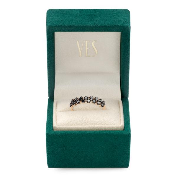 Zdjęcie Midnight - pierścionek złoty z diamentami #2