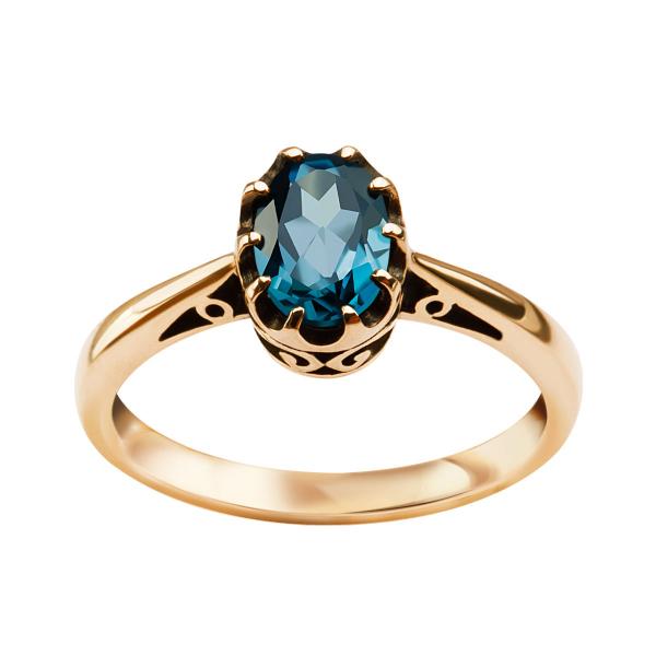 pierścionek-złoty-z-topazem-kolekcja-wiktoriańska-1