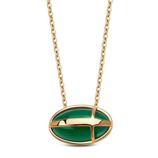 naszyjnik-złoty-z-zielonym-agatem-skarabeusz-1