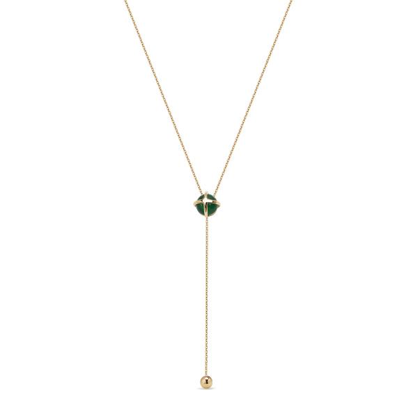 Zdjęcie Skarabeusz - złoty naszyjnik #1