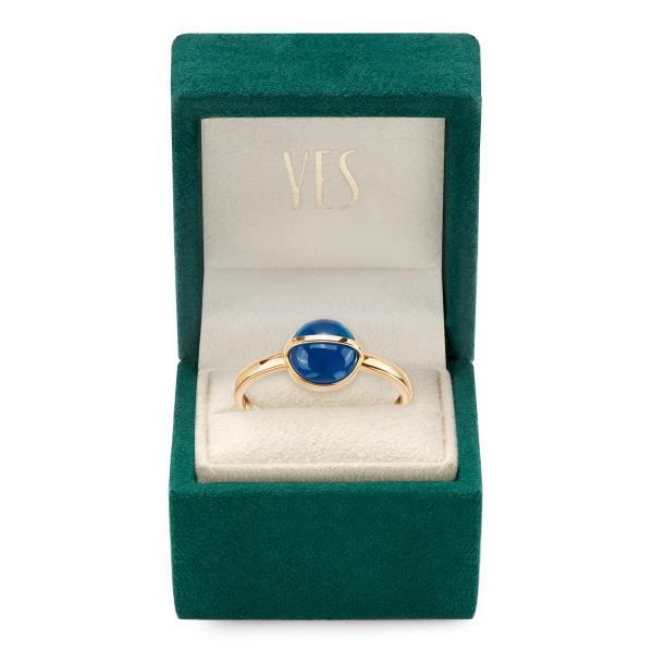 Zdjęcie Skarabeusz - pierścionek złoty z agatem #4