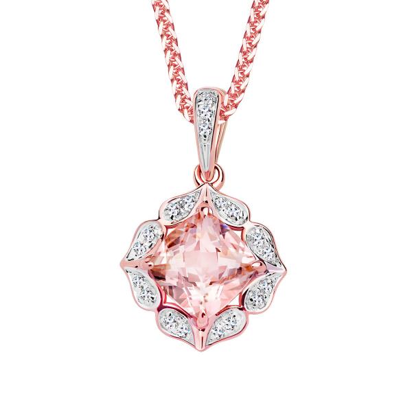 zawieszka-z-różowego-złota-z-morganitem-i-diamentami-vintage-rose-1