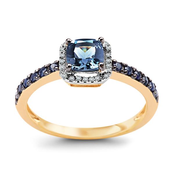 pierścionek-złoty-z-diamentami,-szafirami-i-topazem-1