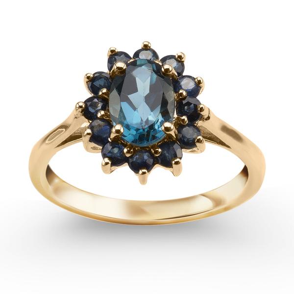 pierścionek-złoty-z-szafirami-i-topazem-1