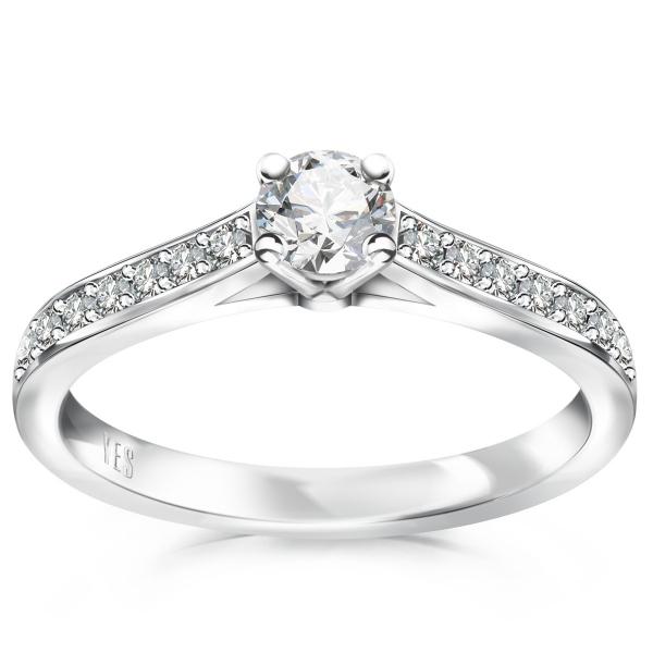Zdjęcie Éternel - pierścionek z diamentami #1