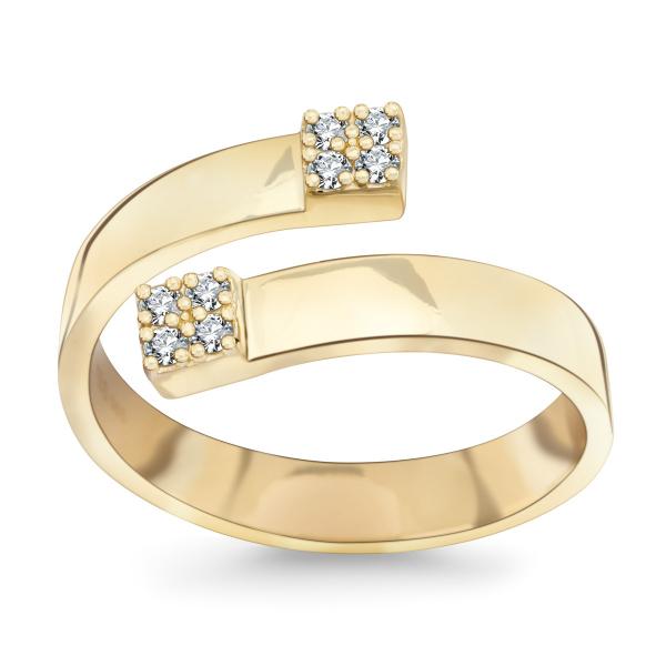 Zdjęcie Shine - złoty pierścionek #1