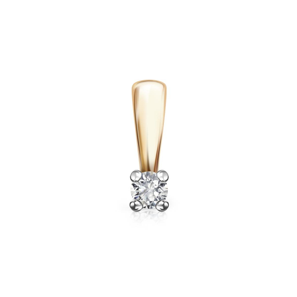 Zdjęcie Éternel - zawieszka złota z diamentem #1