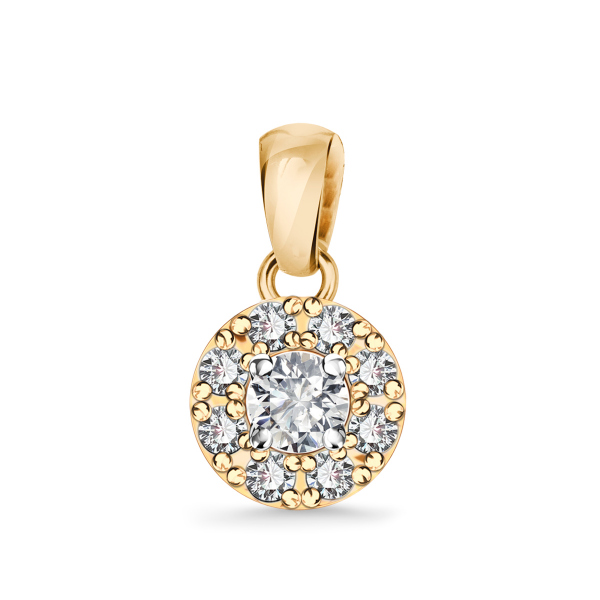 Zdjęcie Metropolitan - zawieszka złota z diamentami #1