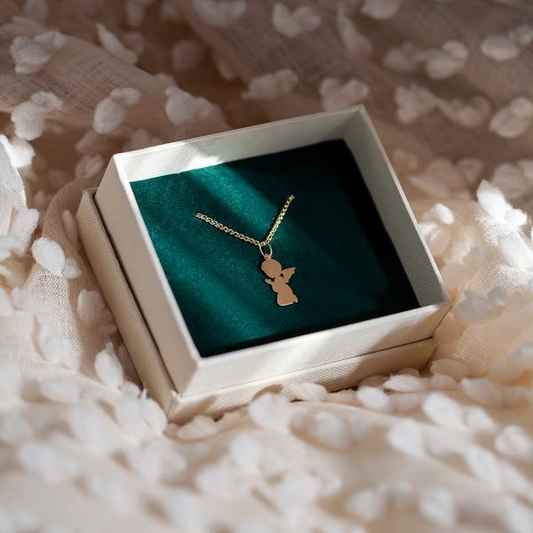 Zdjęcie Mini - zawieszka złota #2