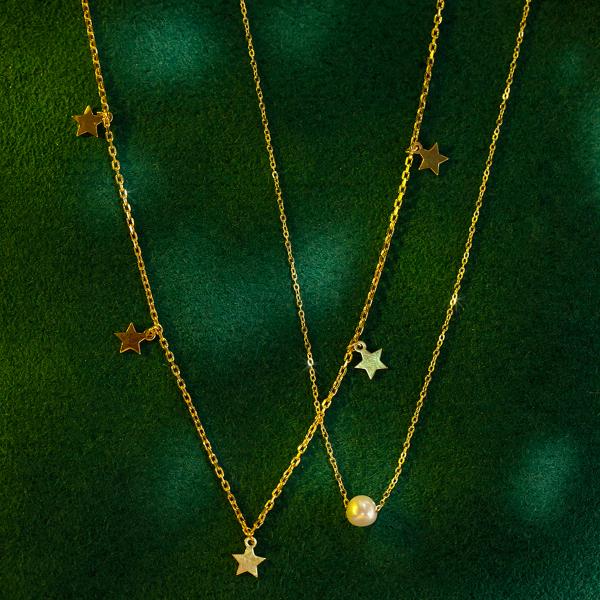 naszyjnik-pozłacany-gwiazdy-2