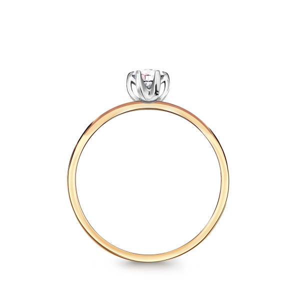 Zdjęcie Lotos - pierścionek z diamentem #3