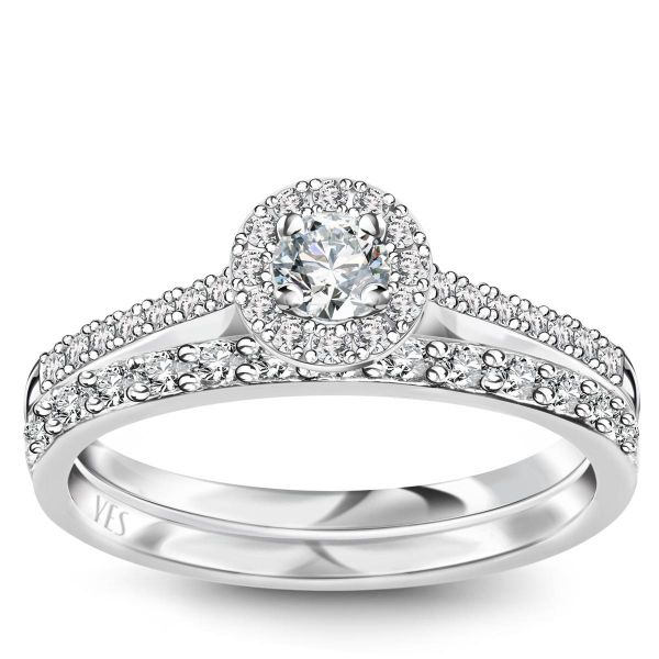 Zdjęcie Metropolitan - pierścionek platynowy z diamentami #4