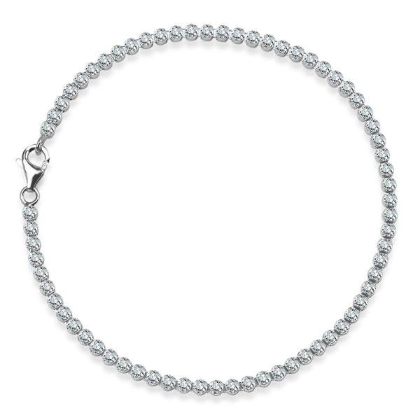 Zdjęcie Glow - bransoletka z srebra z cyrkoniami #1