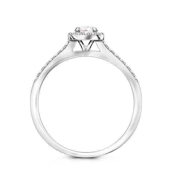 Zdjęcie Metropolitan - pierścionek platynowy z diamentami #2