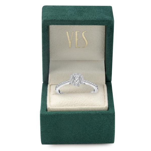 Zdjęcie Metropolitan - pierścionek platynowy z diamentami #3