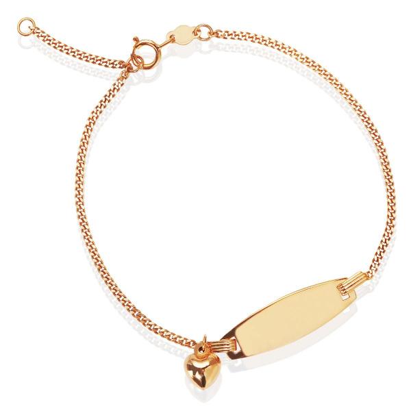 Zdjęcie Mini - bransoletka z żółtego złota #1