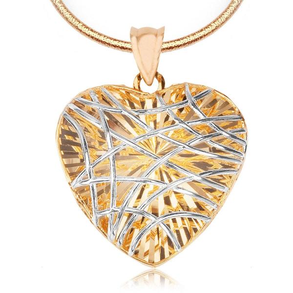 zawieszka-z-dwukolorowego-złota-serce-1