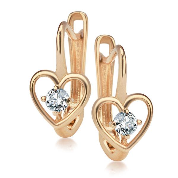kolczyki-złote-z-cyrkonią-serce-1