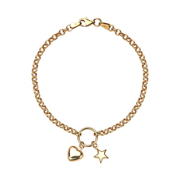 bransoletka-złota-serce-1