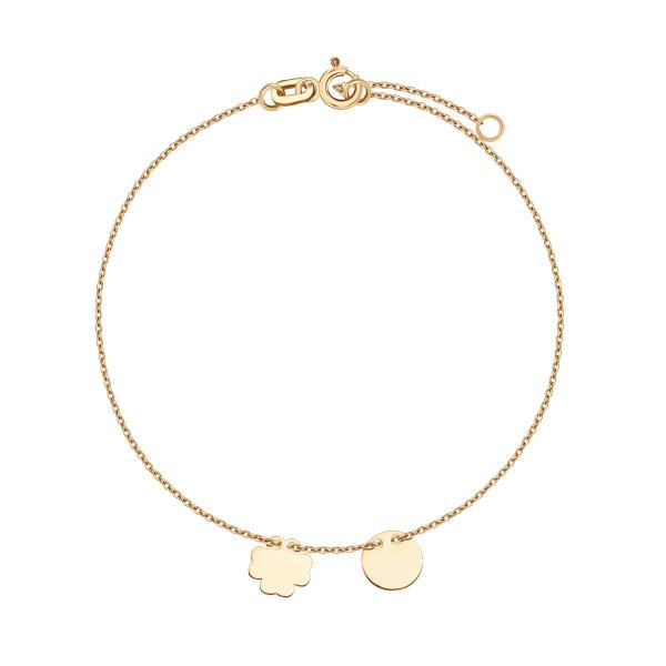 bransoletka-złota-koniczyna-1