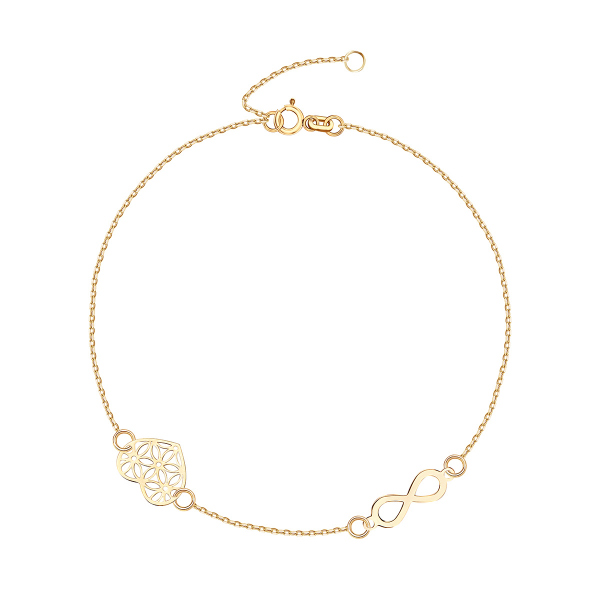 bransoletka-złota-nieskończoność-1