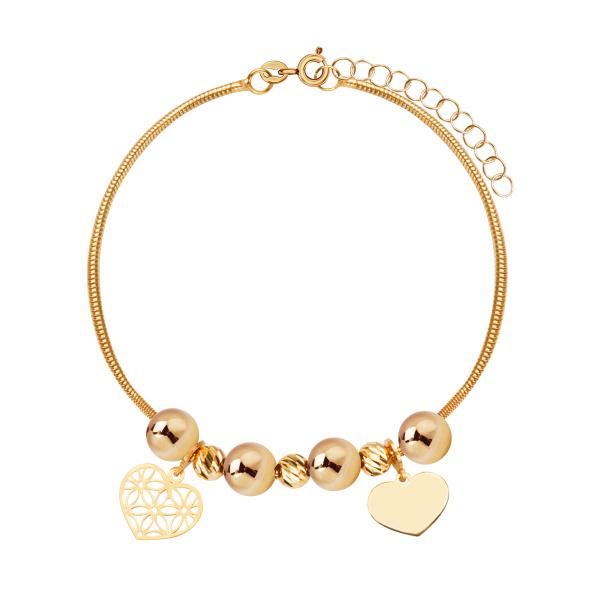 bransoletka-złota--serca-1