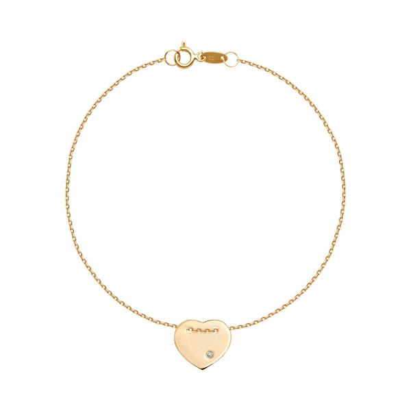bransoletka-złota-z-diamentem-serce-1