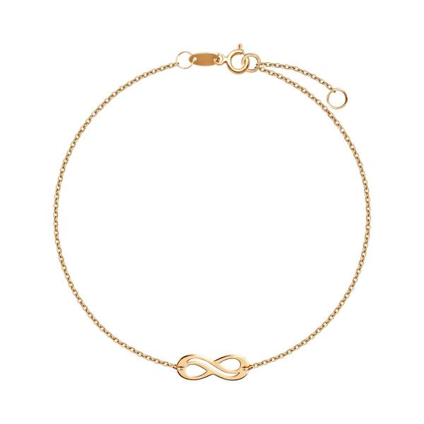 bransoletka-złota-nieskończoność-sempre-1