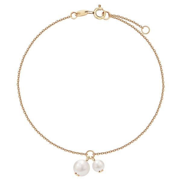 Zdjęcie Pearls - bransoletka złota z perłami #1