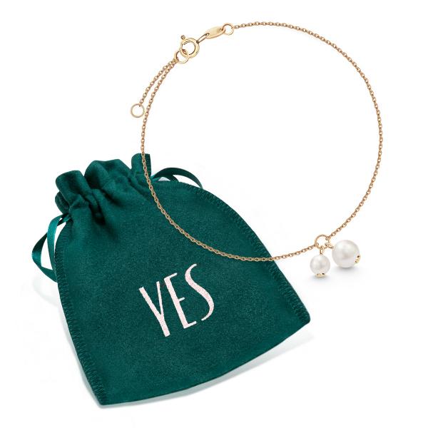 Zdjęcie Pearls - bransoletka złota z perłami #2