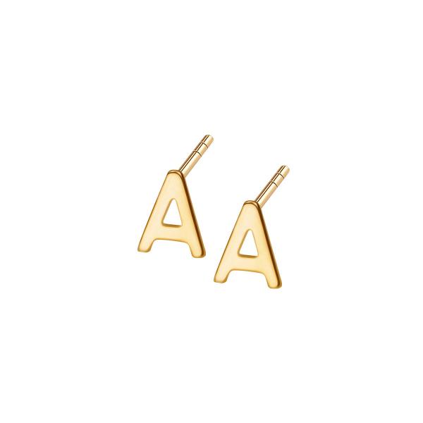 kolczyki-złote-litera-a-1