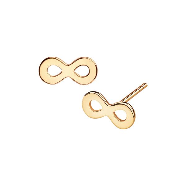 kolczyki-złote-nieskończoność-sempre-1