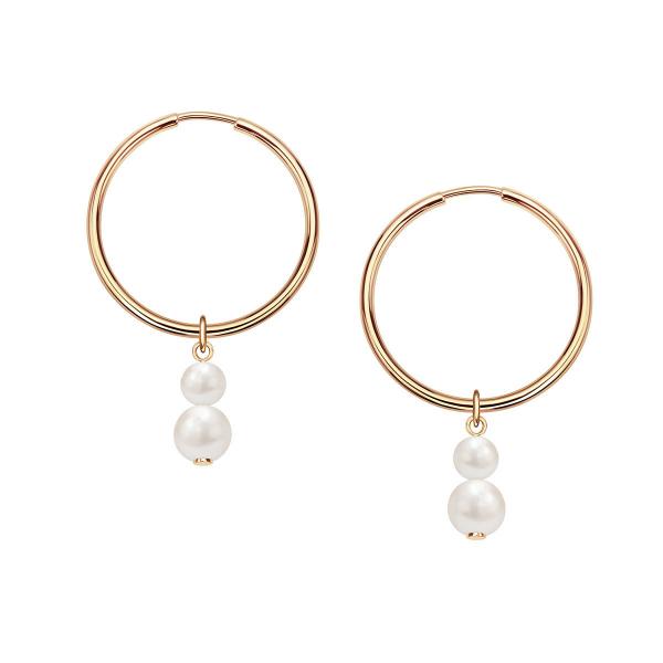 Zdjęcie Pearls - kolczyki złote z perłami #1