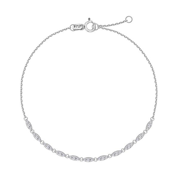 bransoletka z białego złota kolekcja Lunaria