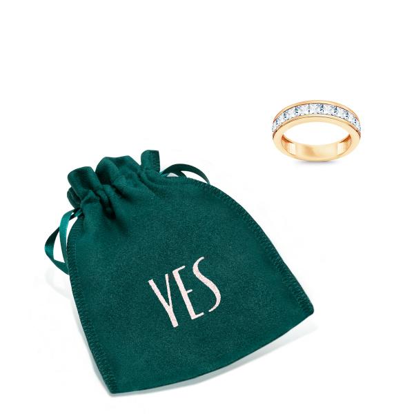 Zdjęcie YES Rings - pierścionek z żółtego złota z cyrkoniami #2