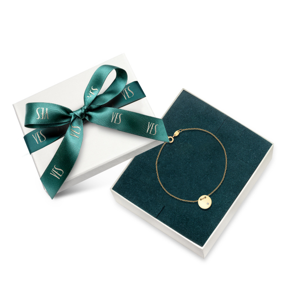 Zdjęcie Złota bransoletka z diamentem #2