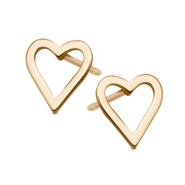 Zdjęcie Geometric - kolczyki z żółtego złota #1