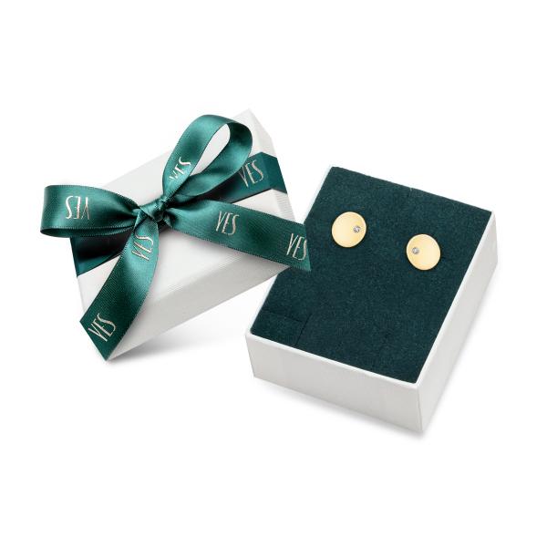 Zdjęcie Złote kolczyki z diamentami #2