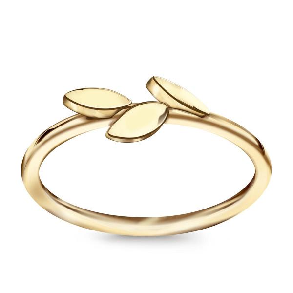 Zdjęcie Livia - pierścionek z żółtego złota #1