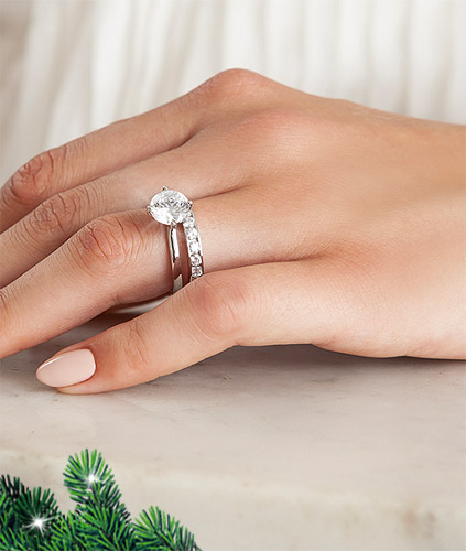 Diament-Idealny-YES-Kolekcja-Zareczynowa-Valentine-Biale-Zloto-Obraczka-Biale-Zloto-z-Diamentami