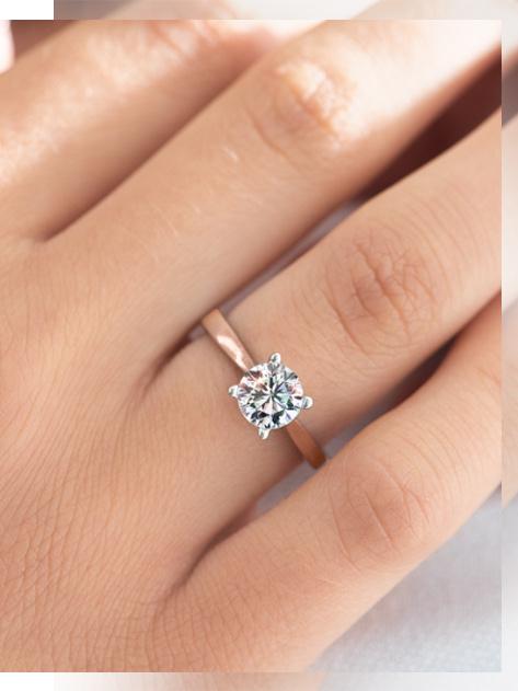 YES Biżuteria Konkurs Hearts & Arrows - pierścionek z kolekcji Eternel
