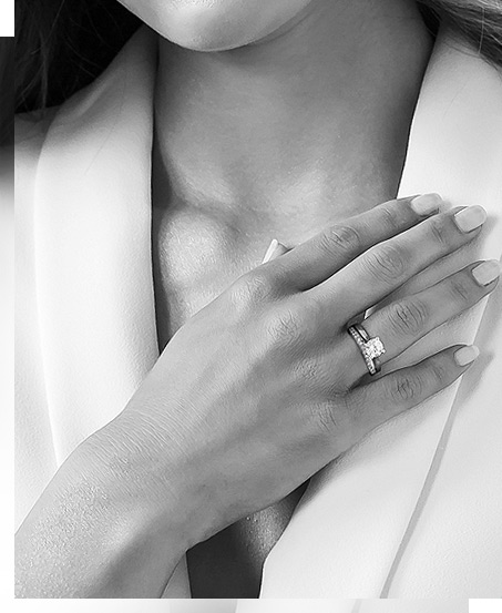 Biżuteria YES z diamentem Hearts & Arrows